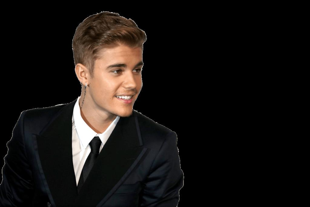 Suit Justin Bieber transparent PNG.