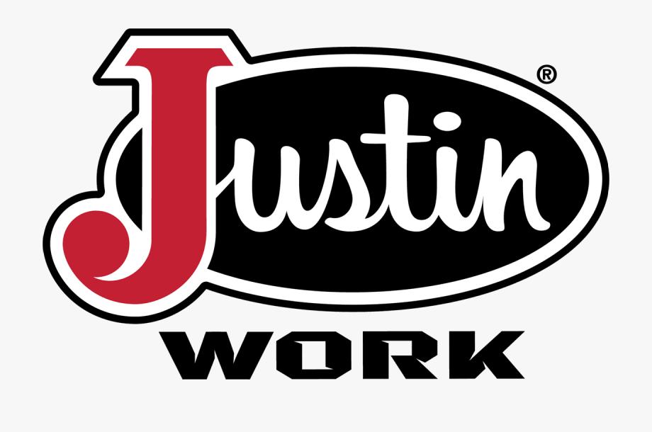 Justin Work Boots Logo , Transparent Cartoon, Free Cliparts.