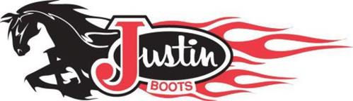 JUSTIN BOOTS Trademark of Boot Royalty Company, L.P. Serial.
