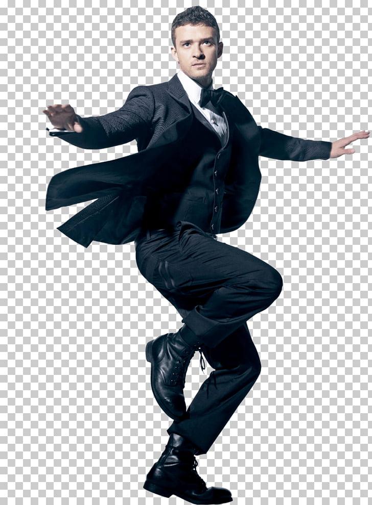 Dancing Justin Timberlake, Justin Timberlake raising one.
