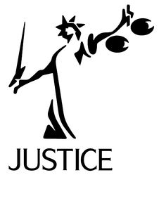 Justitia Waage Clipart.