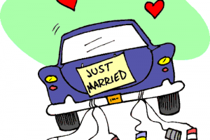 Just married clipart 12 » Clipart Station.