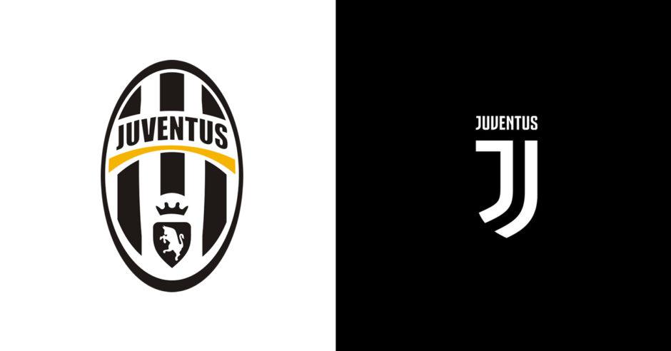 Juventus Logo Rebranding.