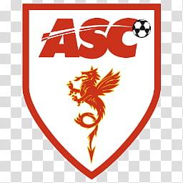 Team Logos, ASC football logo transparent background PNG.