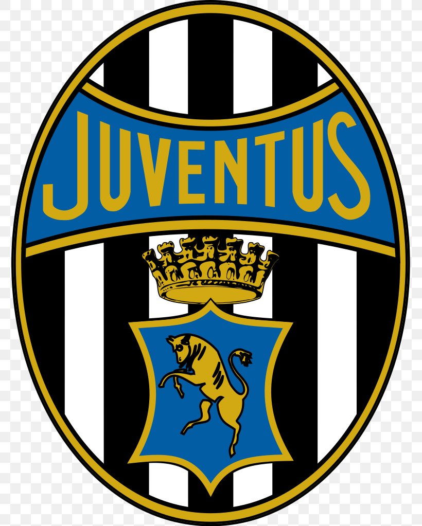 Juventus F.C. UEFA Champions League Logo Vector Graphics.