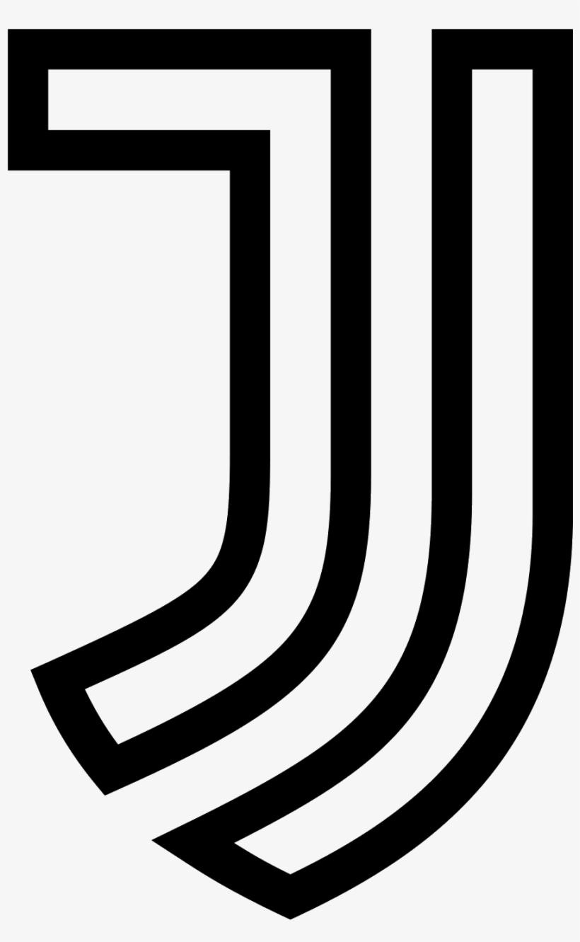 Juventus White Logo Png Transparent PNG.