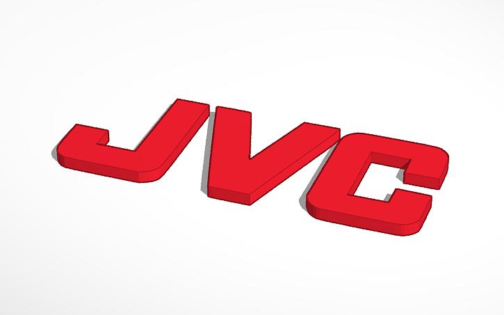 3D design JVC Logo (1927.