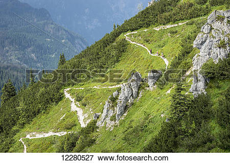 Picture of Hiking trail, Berchtesgadener Land; Schonau am Konigsee.
