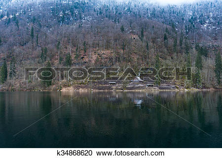 Stock Photography of Konigsee lake k34868620.