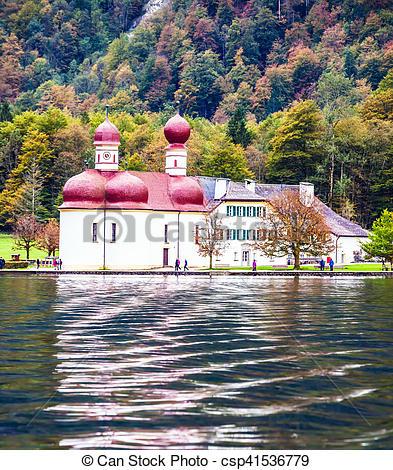 Bilder von kloster, ST, See, königssee, bartholomew.
