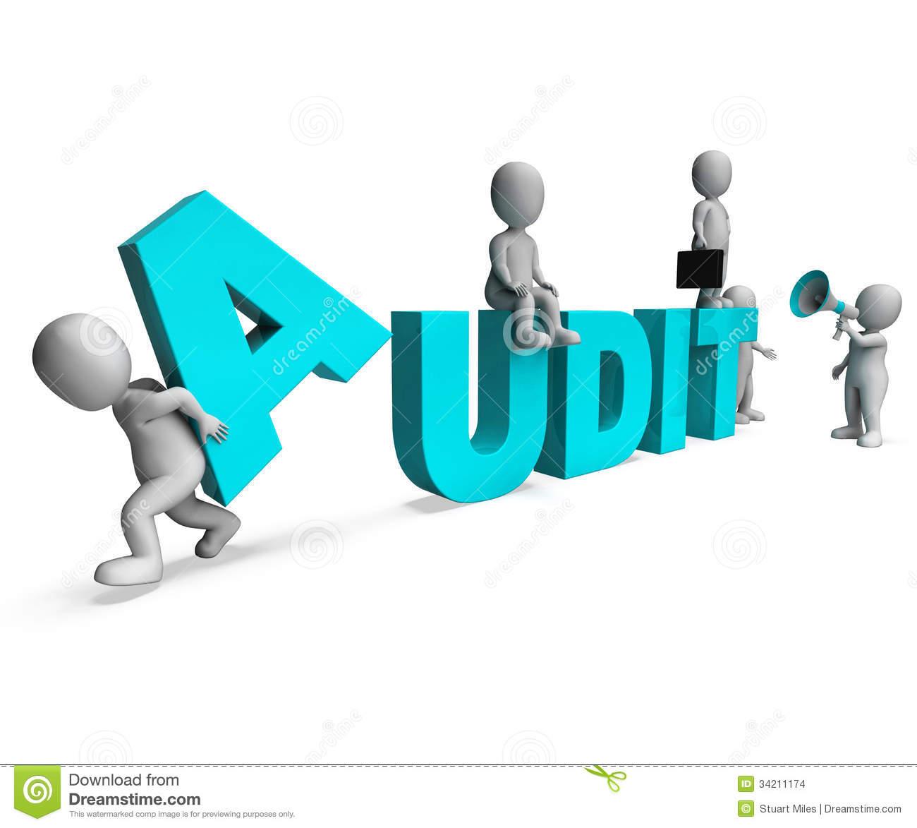 System Audit Clip Art.