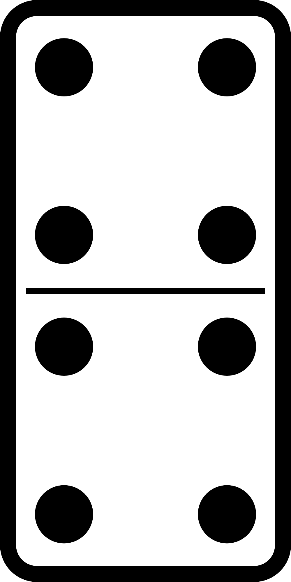 domino set black white line art Coloring Book Colouring Sheet.