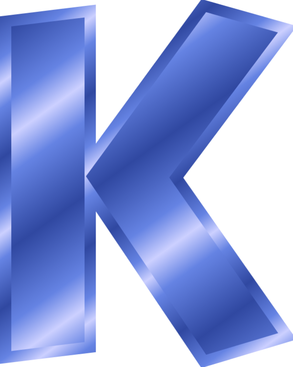 clipart letter k #18