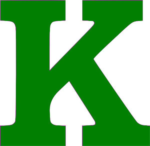 K On Clipart - Clipground