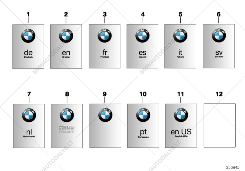 Owner's handbook for BMW K21 (R nineT), R nineT (0A06, 0A16) (USA.