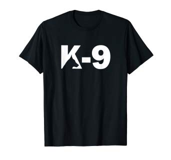 Amazon.com: K9 German Shepherd Logo Design K9 Unit t shirt.