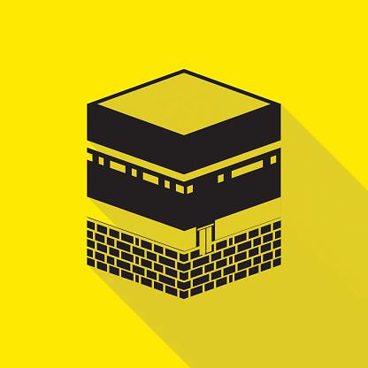 Kaaba In Mecca Clip Art Clip Art, Vector Images & Illustrations.