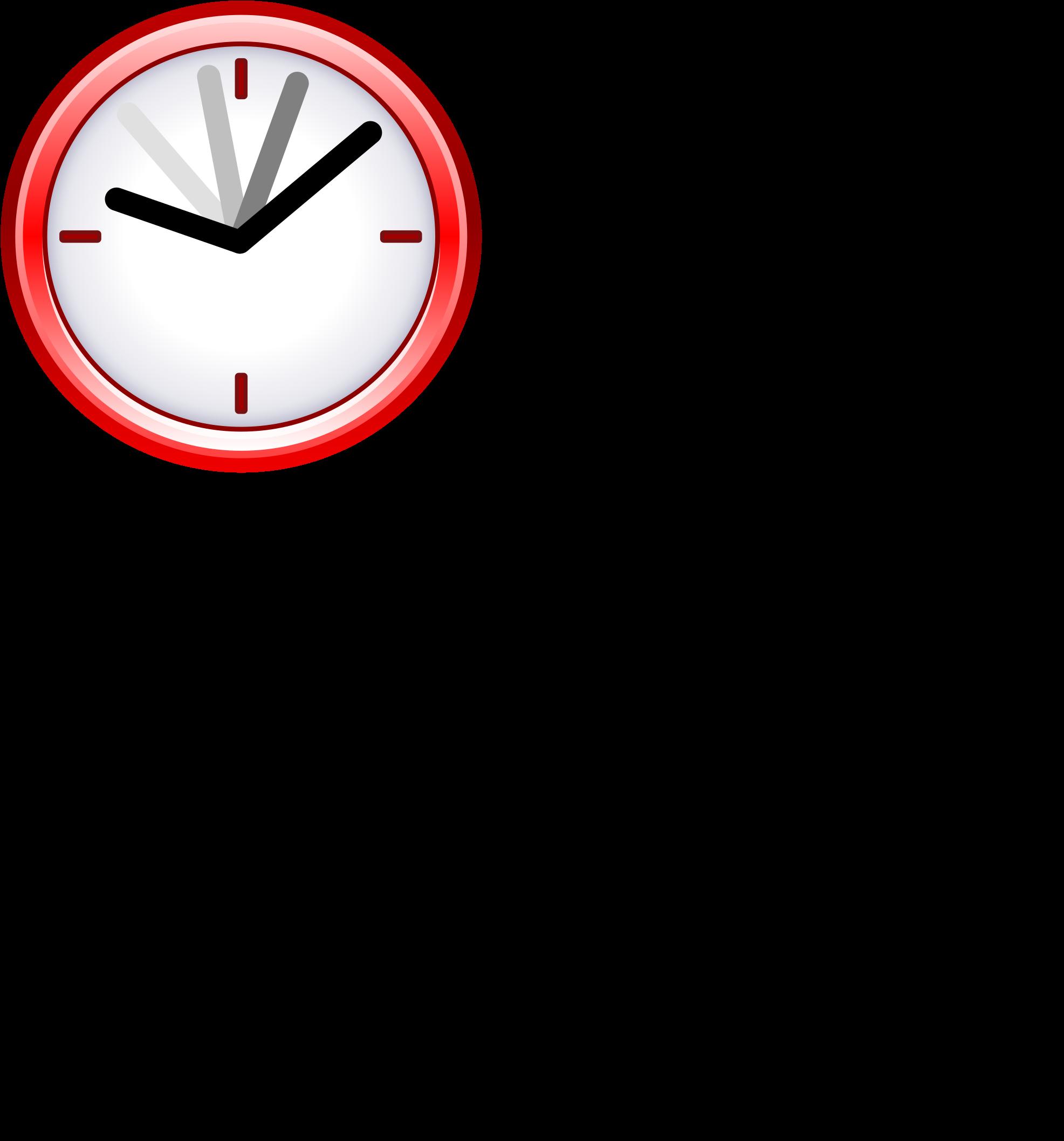 Image Black And White Download Clock Svg Pictogram.