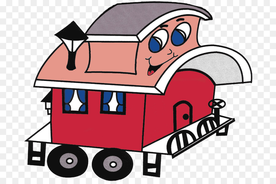 Caboose Train Rail Transport Clip Art Festival Clipart Png Special.