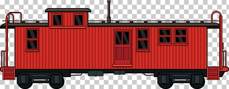 Rail transport Train Passenger car Goods wagon Caboose, Creative.