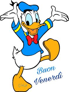 Donald Duck Clip Art.