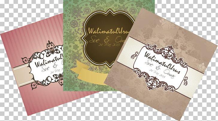 Wedding Invitation Marriage Kad Kahwin Cantik Paper Long Tail.