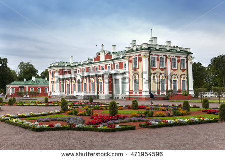 Kadriorg Park Stock Photos, Royalty.