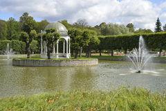 Japanese Garden In Kadriorg Park, Tallinn Stock Photo.
