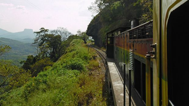 Kandy — Colombo Train Ride.