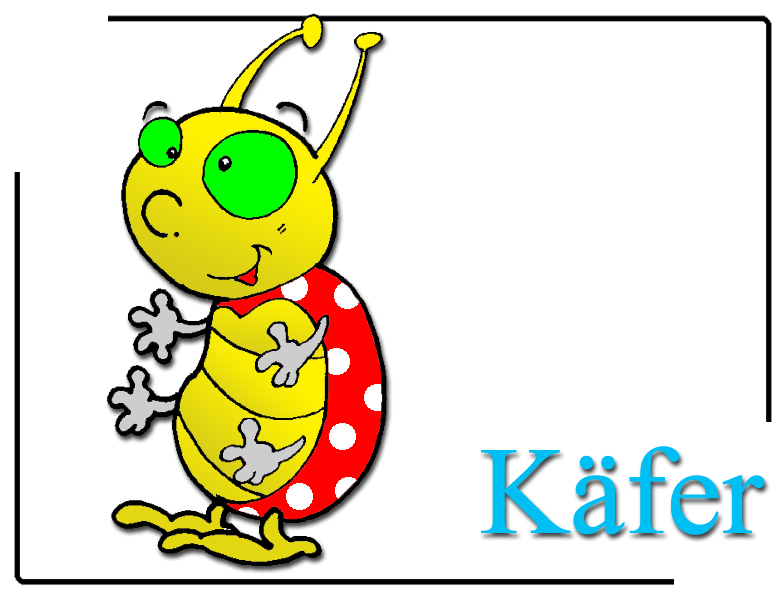 Käfer Clipart.