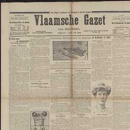 Vlaamsche gazet van Brussel: dagblad voor Zuid.