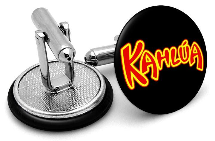 Kahlua Logo Cufflinks by FrenchCuffed.