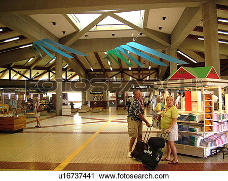 Stock Photography of Maui, HI, Hawaii, Kahului Airport u16737441.