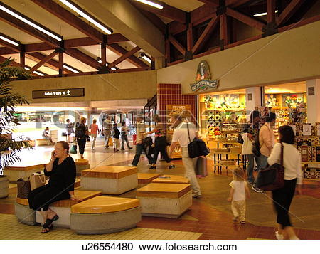 Stock Photography of Maui, HI, Hawaii, Kahului Airport u26554480.