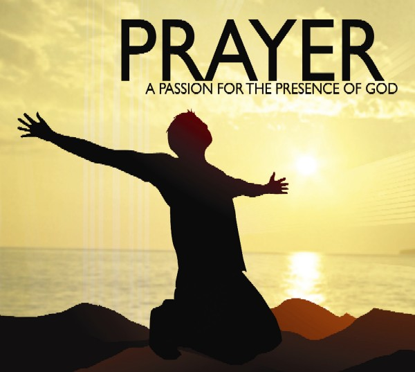 Person Praying On Knees Clipart.