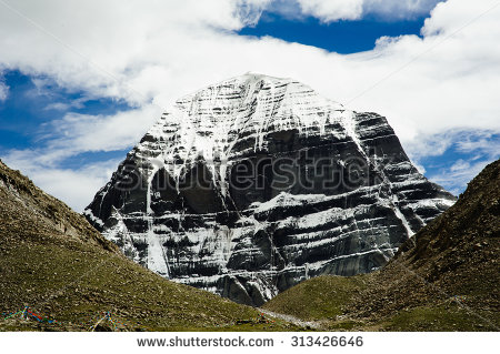 Mount Kailash Clipart.