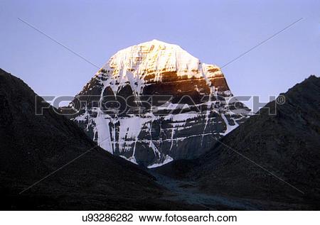 Stock Photo of Mount Kailash u93286282.