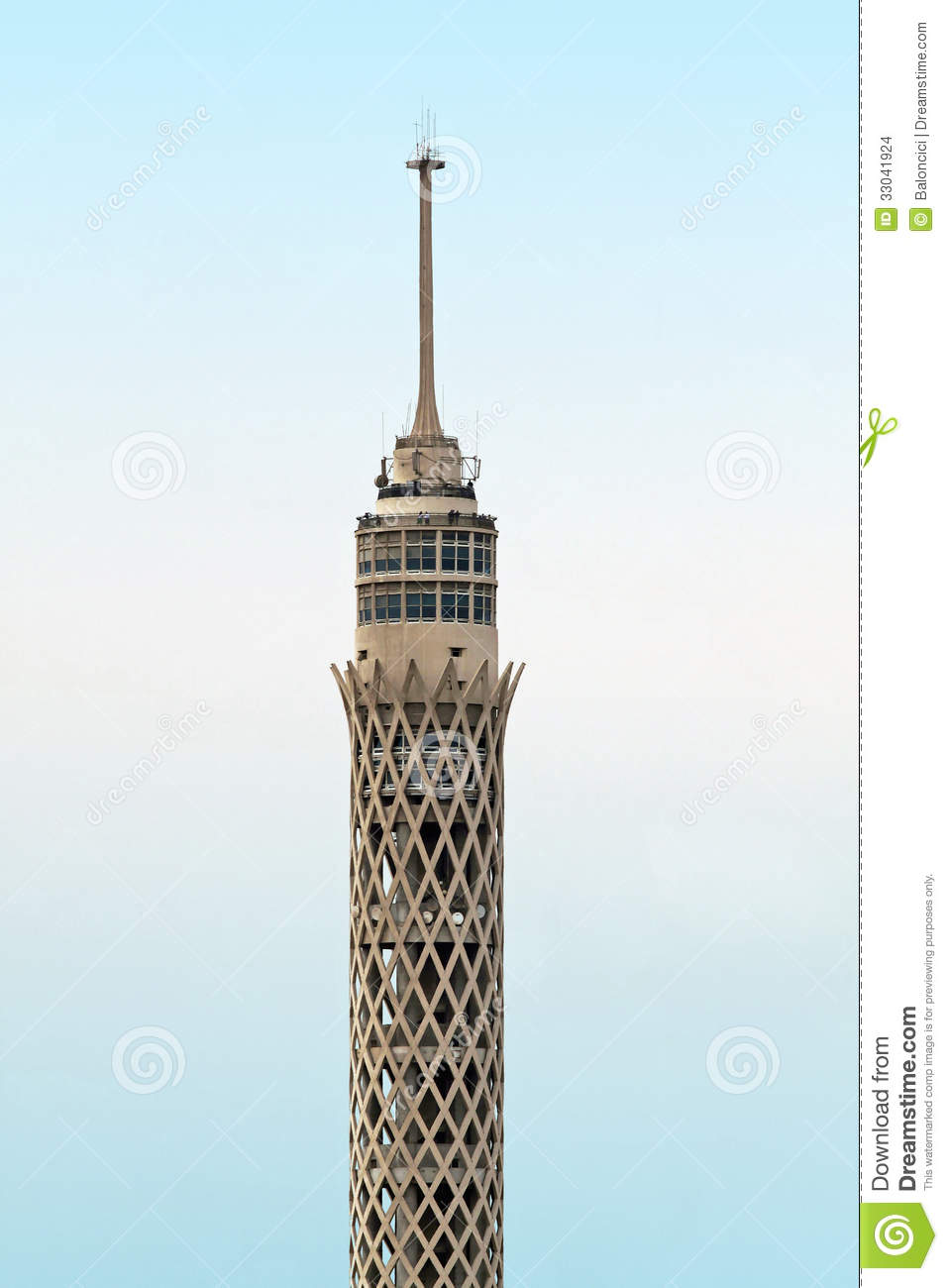 Cairo Tower Stock Images.