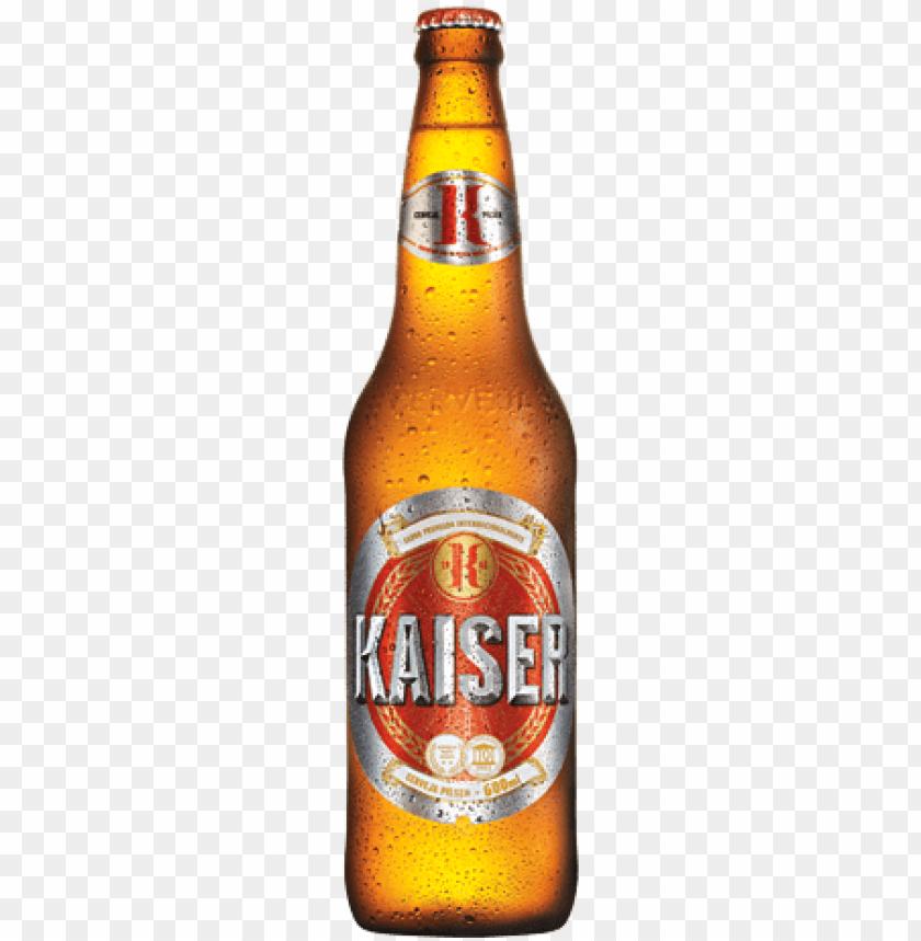 cerveja kaiser PNG image with transparent background.