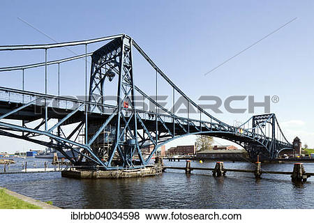 "Pictures of ""Kaiser Wilhelm Bridge, historic swing bridge from."
