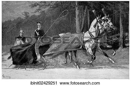 "Stock Photography of ""Kaiser Wilhelm II in a horse."