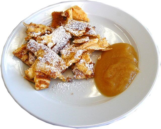 Free photo: Kaiserschmarrn, Sweet Dish, Pancake.