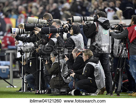 Stock Photography of Group of sports photographers, Fritz.