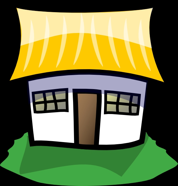 Homes Cartoon Clipart#1958322.