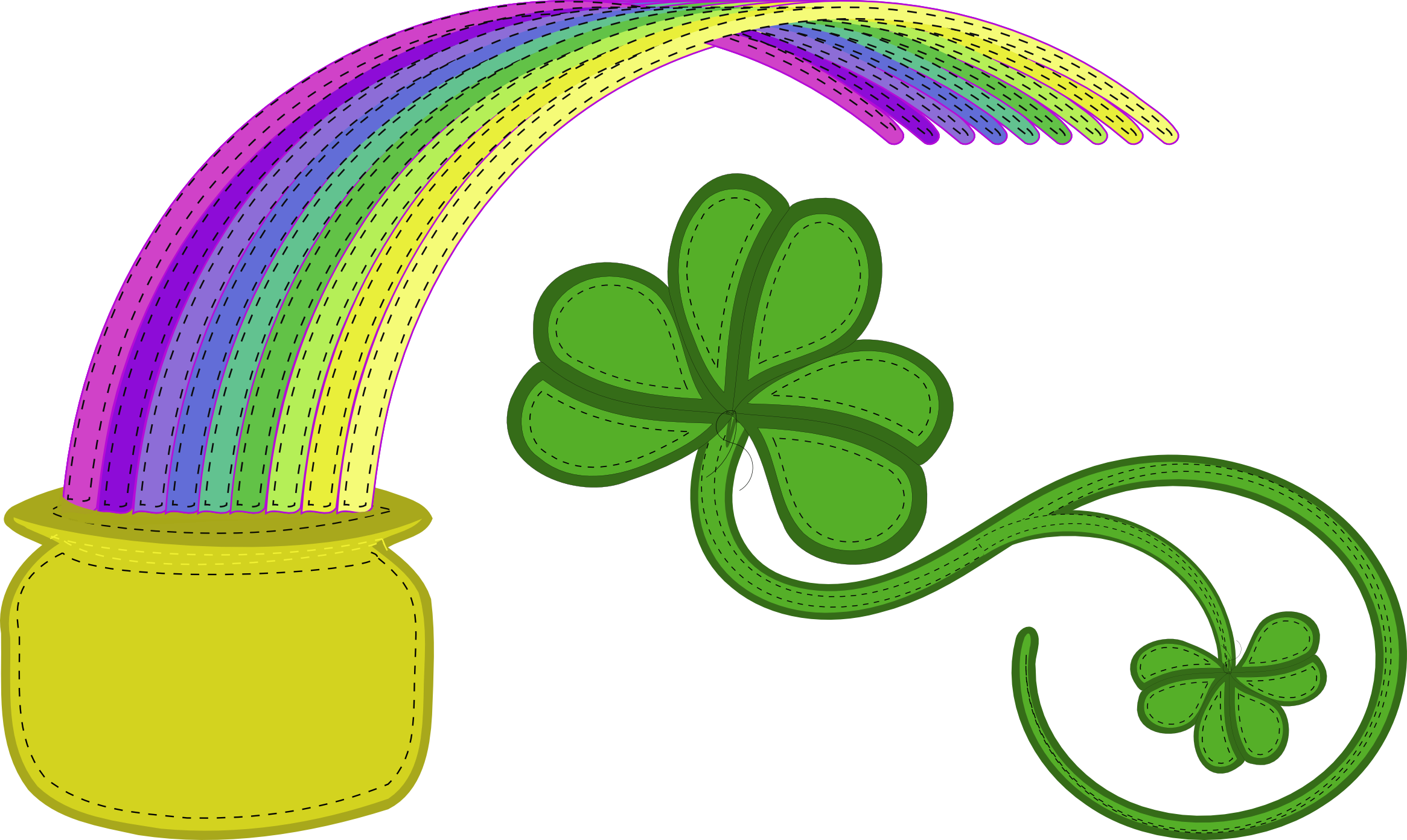St. Patty's Day Clipart.