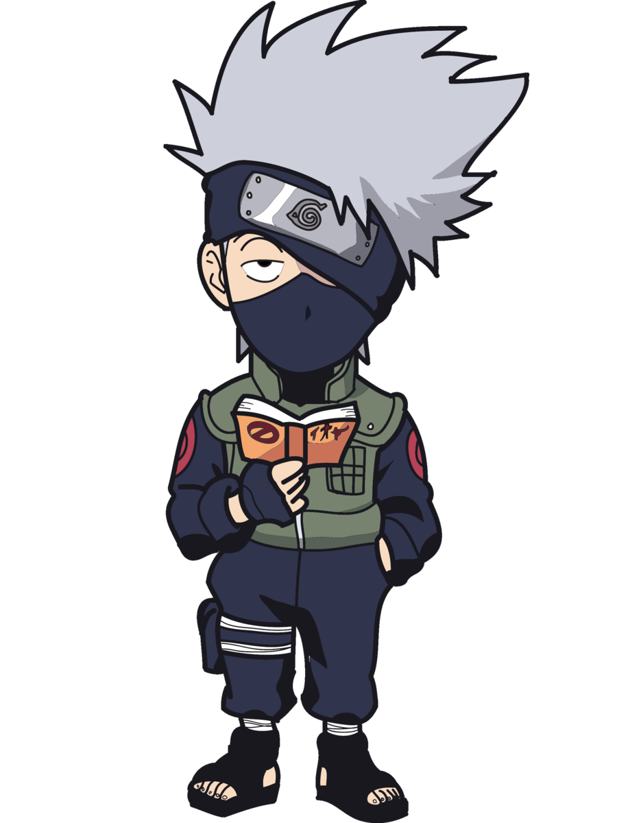 Kakashi! by JigsawChainsaw on DeviantArt.