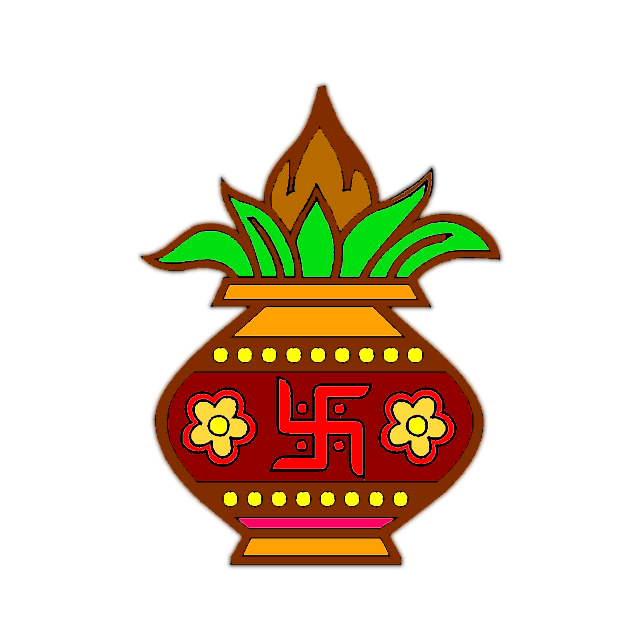 Kalash Indian Wedding PNG images and clipart free.