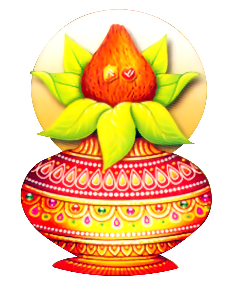 Pooja High Resolution Kalash Png Icon #47058.