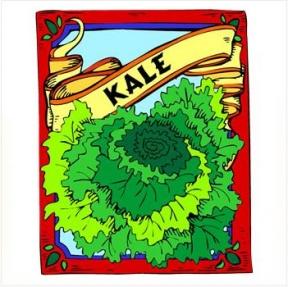 My Box Of Vintage Stuff: Free Vintage Kale Image.