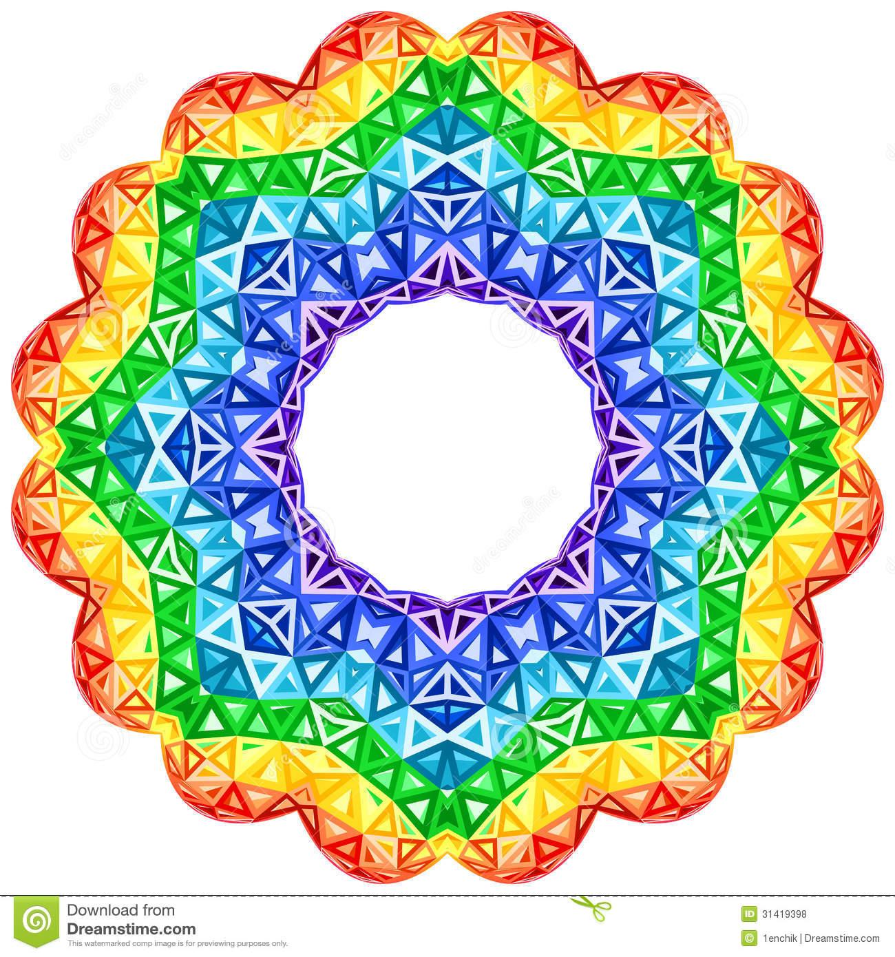 Kaleidoscope clip art.